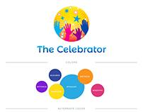 The Celebrator logo design & branding