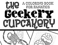 Geekery Cupcakery Coloring Book