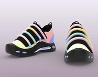 Jelly Bean | Shoe Renders