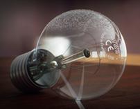 Bulb 3D Render
