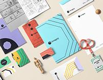 Octagonz brand design.
