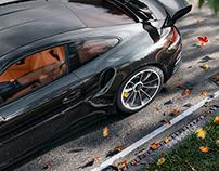 Porsche GT3 RS CGI.