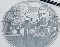 Westinghouse Award Plate