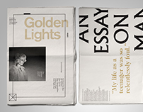 Golden Lights Zine