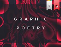 """Graphic poetry - """"Précisément aléatoires"""""""