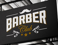 Barber Club - Identidade Visual
