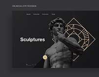 Onlinegallery Redesign