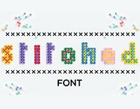 Stitched Font