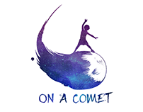 ON A COMET (logo)