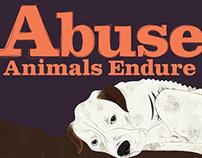 Social Justice/Animal Cruelty Poster Series, No. 2