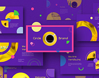 Circle Brand Powerpoint Template