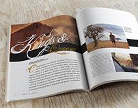 {Zo}ology Magazine Feature Spread