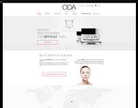 ODA company WEB design
