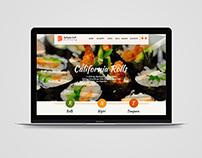 Web Design ByHappy sushi deliery