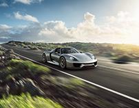Porsche 918 Spyder - CGI