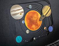 Tunnel book • Sistema solar •