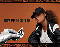 VOLCOM AX collection - SPRING 19 - M&W
