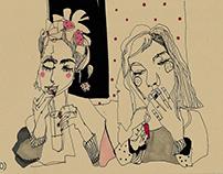 Ilustraciones. La libreta de Neka