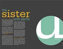 Font Study: Serifa