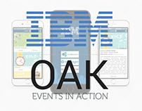 Business events smartphone app - UI / UX iOS iPhone
