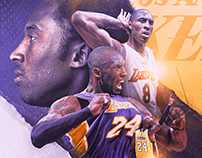Kobe Bryant 40th Birthday | Official NBA Artwork