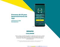 UX Process to App Development - Processo de UX para App