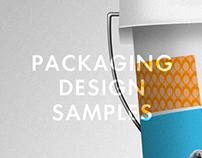 Packaging Design Samples