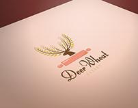 Deer Wheat Bakery Logo