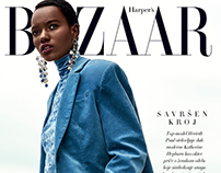 Herieth Paul for Harper's Bazaar Serbia