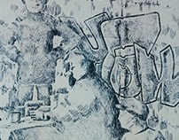 Aquaforte etching
