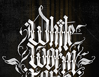 WHITE WORM TATTOO