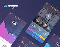 Angee App - Home Security System