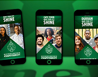 Heineken - Make Your City Shine - Mobile Experience