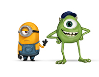 Minion meets Mike