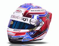 Bell Racing Star Chrome helmet