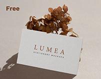 Lumea Free Stationery Mockup Set
