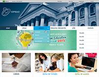 Redesign site CIPEAD