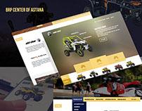 Создание Web Сайта для brp-astana.kz