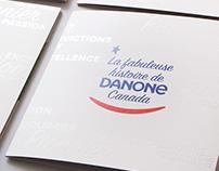 Danone Canada - livret historique