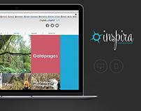 Inspira Ecuador/ Web Site
