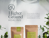 Higher Ground Healing - Branding