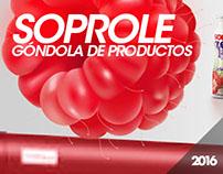 Soprole / Góndola de Productos