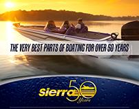 Magazine Ad Sierra 50th Anniversary