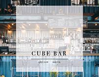 Cube Bar - Social Media Templates
