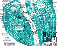 Budapest Treasure Map