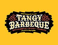 McDonald's Buttermilk Crispy Tenders: Tangy Barbeque.
