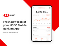 HSBC Mobile Banking App