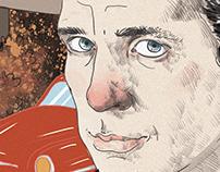 Jack Kerouac para la BG magazine