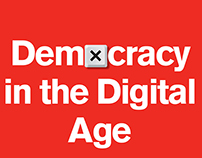 Democracy in the Digital Age. Book jacket