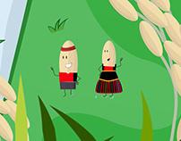 Dancing Rice